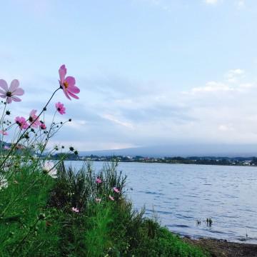 休日は河口湖でBBQ☆